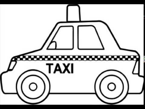 car-taxi-drawing