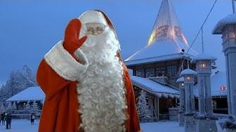 Joulupukin pajakylä: Joulupukki Napapiiri Rovaniemi Lappi: tapaa Joulupukki matkailuvideo perheille