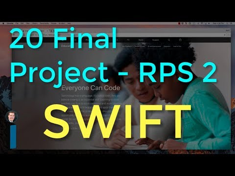 20 Final Project - RPS Part 2 - Intro to App Development with Swift Mp3