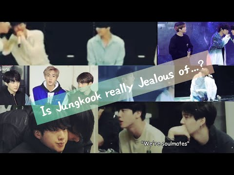 Is Jungkook really jealous of......?