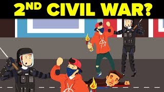 Видео Could the United States Have Another Civil War? от The Infographics Show, Соединённые Штаты