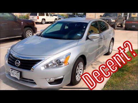 2015 Nissan Altima S - Tour, Drive, 0-60MPH