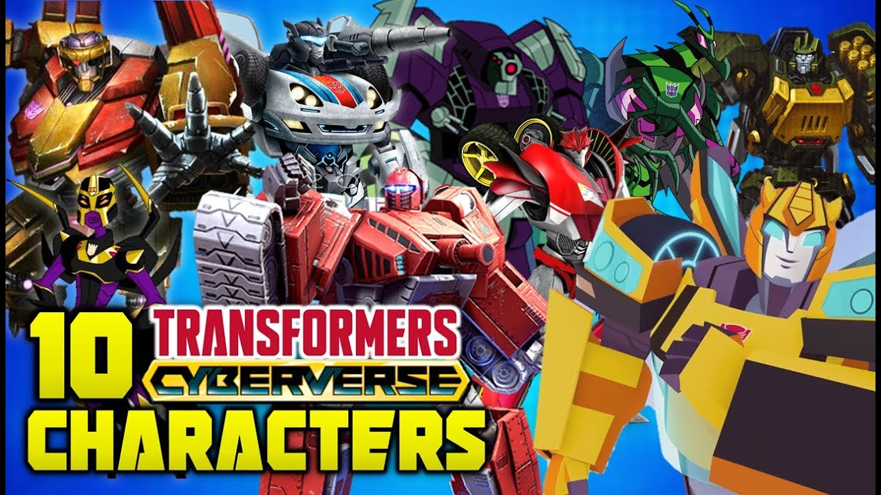 10 Characters We Want In Transformers Cyberverse 2018 Cartoon Series