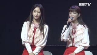 [SSTV] 크레용팝(CRAYONPOP), 팬송 '스케치북' 환상적인 하모니 '팬 여러분, 사랑하고 감사해요…