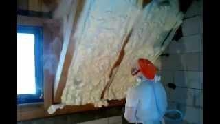 Как правильно утеплить крышу(Утепление крыши напыляемый пенополиуретаном ООО