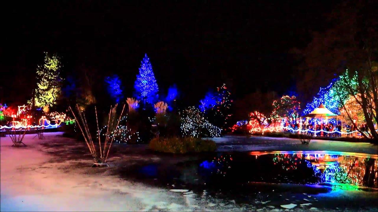 Botanical gardens festival of lights fasci garden - Garden of lights botanical gardens ...