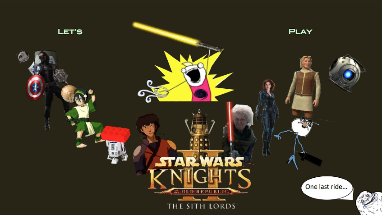 Star Wars®: Knights of the Old Republic™ II on the Mac ...