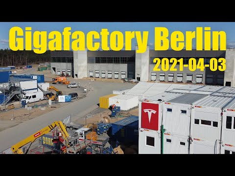 Giga Berlin | 2021-04-03 | Easter Update