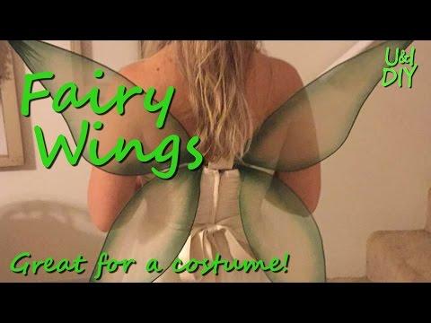 How to make Fairy Wings - DIY tutorial