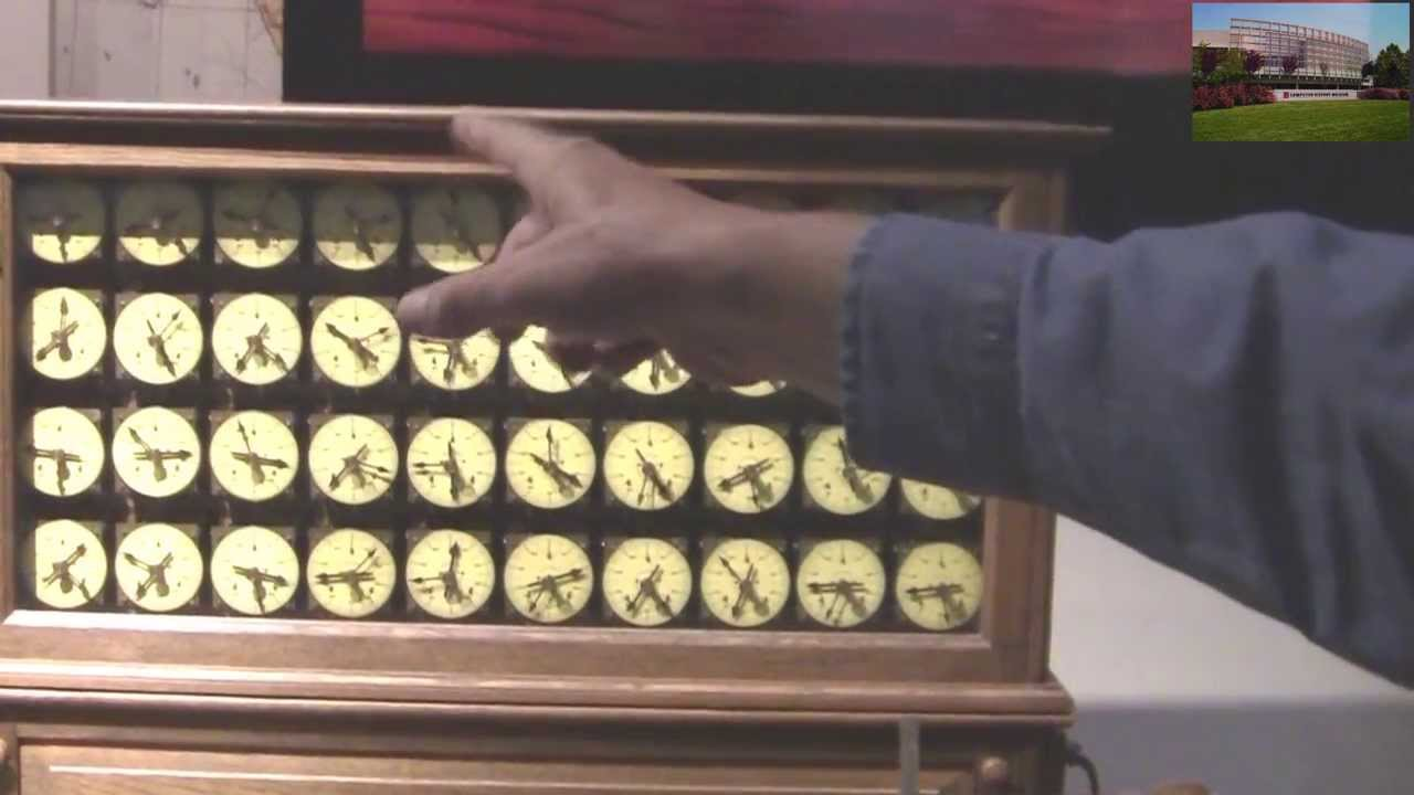 Herman Hollerith Punch Card Machine - YouTube