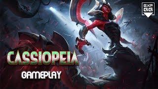 Cassiopeia mid mùa 8 - Gameplay Hướng dẫn bỏ túi LOL