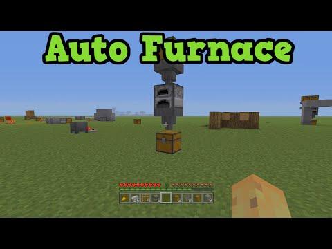 Minecraft Xbox 360 + PS3 Automatic Furnace Tutorial & Beacon Hopper