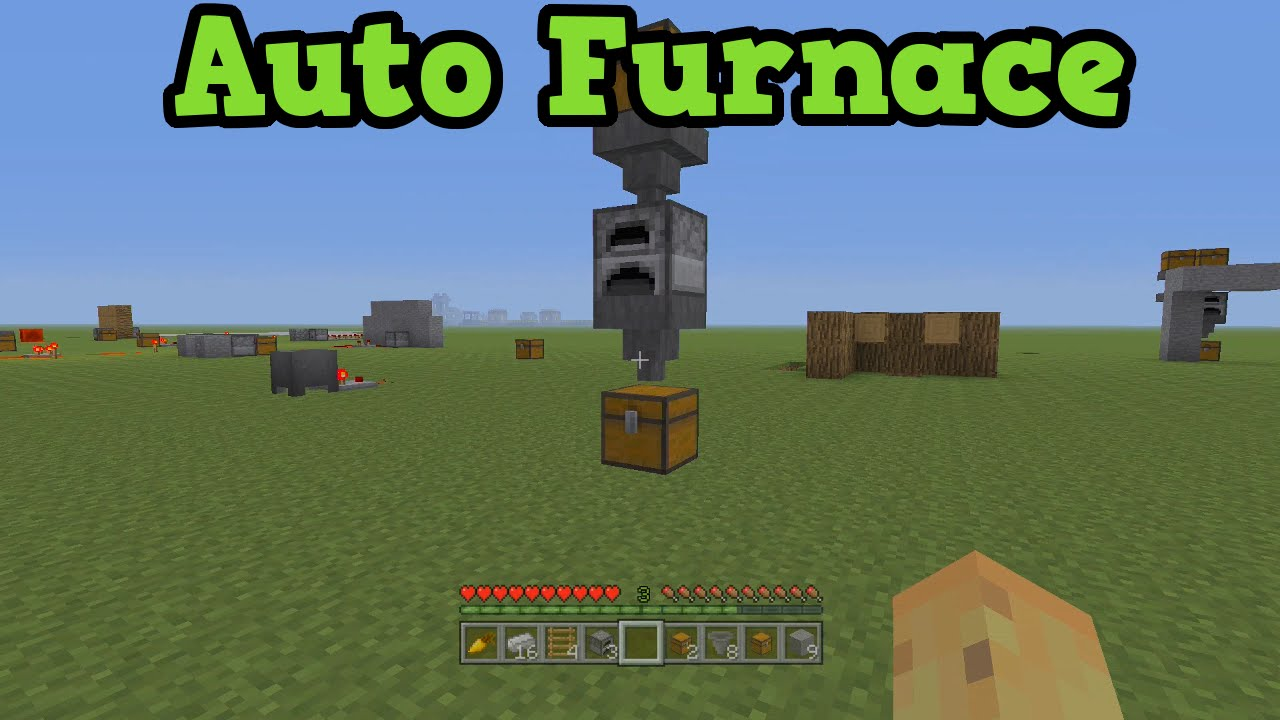 How to make a furnace in minecraft xbox 360 edition