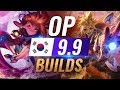 11 NEW Korean Builds to Copy in Patch 9.9 - League of Legends Season 9