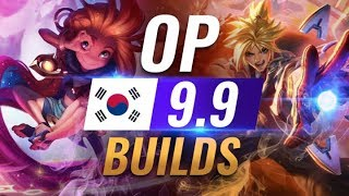11 NEW Korean Builds to Copy in Patch 9.9 - League of Legends Season 9 thumbnail