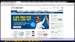 How To Buy Stocks Online Tutorial G+ Screen Share No Minimum Investing