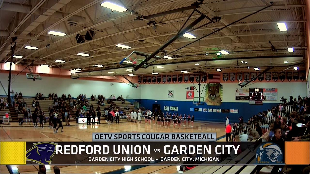 Cougar Basketball: Garden City vs Redford Union - YouTube