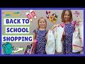 Back to School Shopping ~ Justice ~ Crazy 8 Stores ~ Family VLog