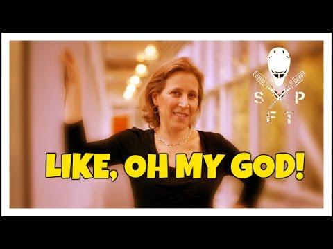 Susan Wojcicki, emotionally and perpetually a 17 year old