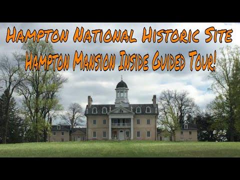 Hampton National Historic Site And Hampton Mansion Tour! 4/29/2018