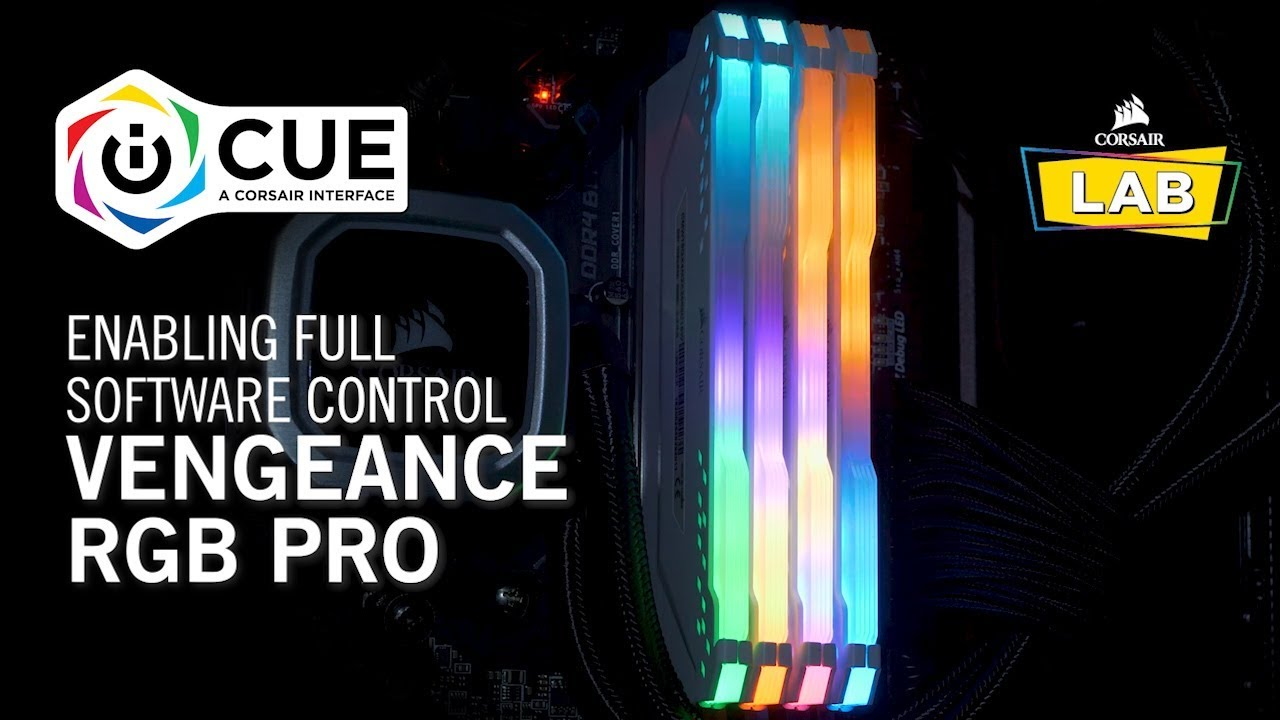 How To Enable Full Software Control for CORSAIR VENGEANCE RGB PRO