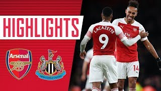 10 HOME PREMIER LEAGUE WINS IN A ROW! Arsenal 2 - 0 Newcastle | Goals & highlights