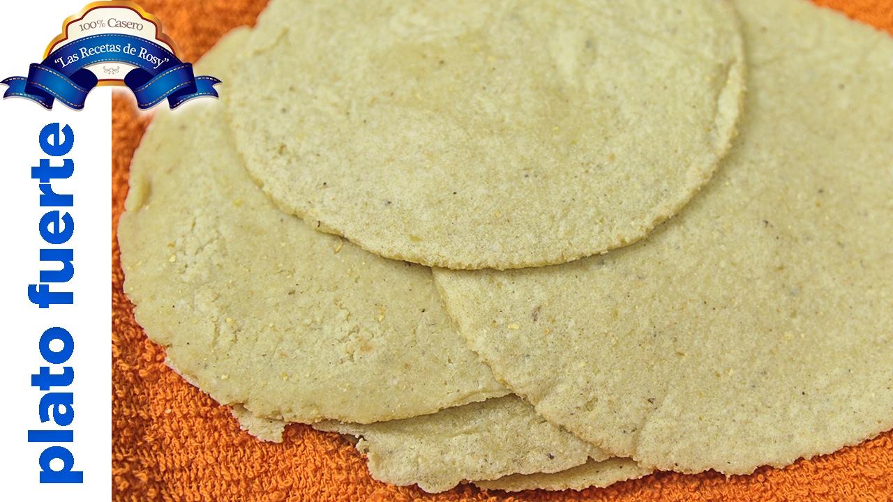 Tortillas De Maiz Para Hacer Tacos Las Recetas De Rosy Youtube
