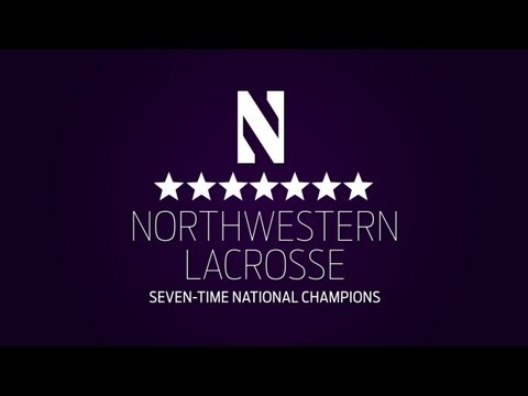 2013 Northwestern Lacrosse Commercial