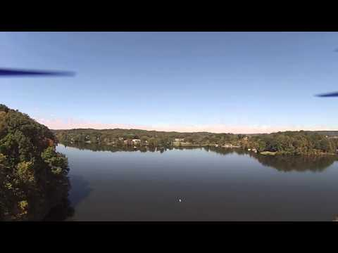 My Quadcopter filmed a car crash take place while flying at Lake Logan State Park.