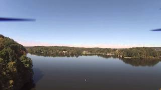 Long Range RC filmed a car crash take place while flying quadcopter at Lake Logan State Park.