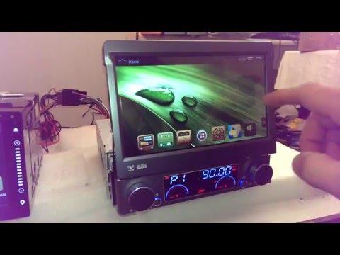 "7"" Android Single One 1 Din Car Multimedia Head Unit Stereo GPS Navigation Sat Nav DVD Radio Audio"