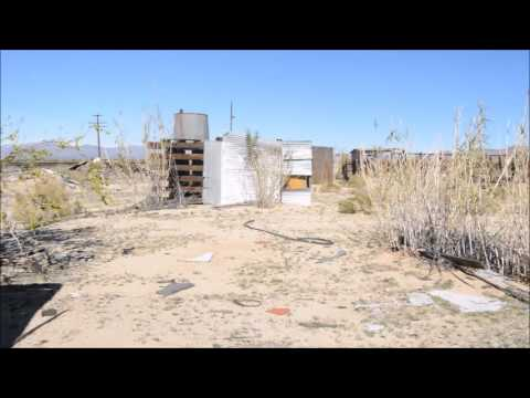 Exploring an Abandoned House in the Mojave Desert
