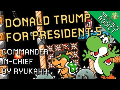Commander-in-Chief (Donald Trump for President - DTFP5) by ryukahr | Super Mario Maker