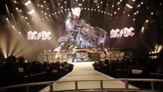 AC/DC - Rock 'N Roll Train Live at Wilkes Barre, Dress Rehearsal (High Definition)