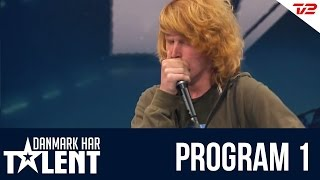 Beatboxeren Thor Mikkelsen - Danmark har talent - Program 1