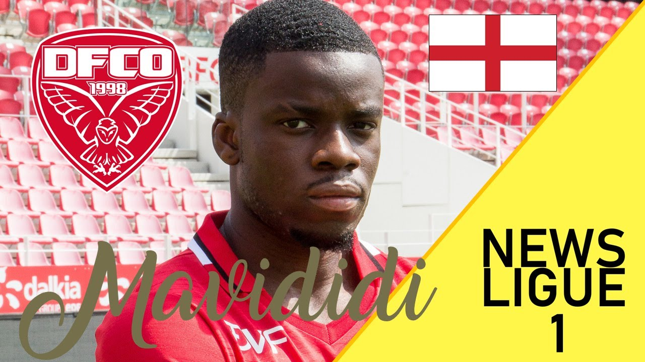 Stephy Mavididi • Goals • FCO Dijon • Ligue 1 Talent