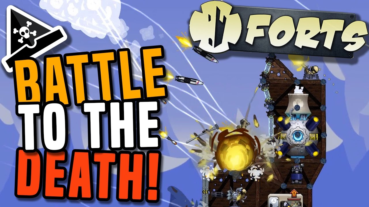 Battle To The Death Forts Gameplay Forts Game Awesome New Strategy Game Youtube