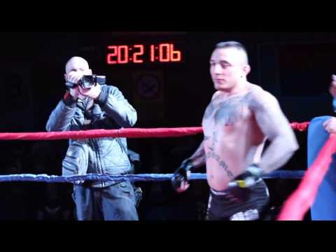 MMA fighter Dusan Dzakic vs 140 kg giant