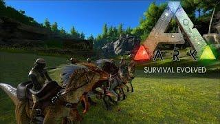 ARK: Survival Evolved.  Война с соседями?