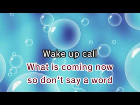 Maroon 5 - Wake Up Call (Karaoke and Lyrics Version)