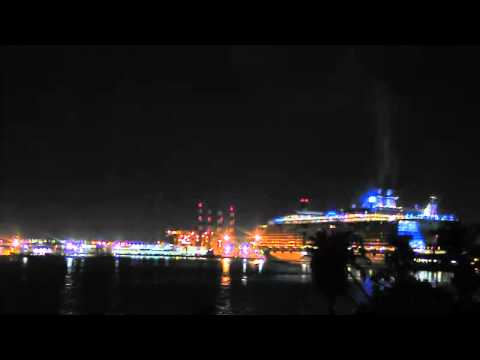 Oasis of the Seas Arrives At Port Everglades - 2/19/2011