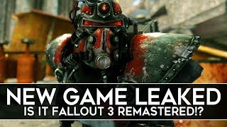 New Bethesda Game Leaked, Is it Fallout 3 Remastered?