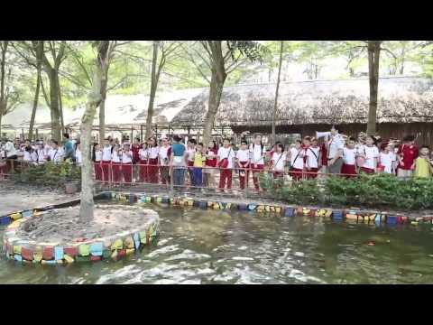 Tham quan làng sinh thái dân tộc thiểu số tại huyện Củ Chi - VAS Tiểu học - 1.2013