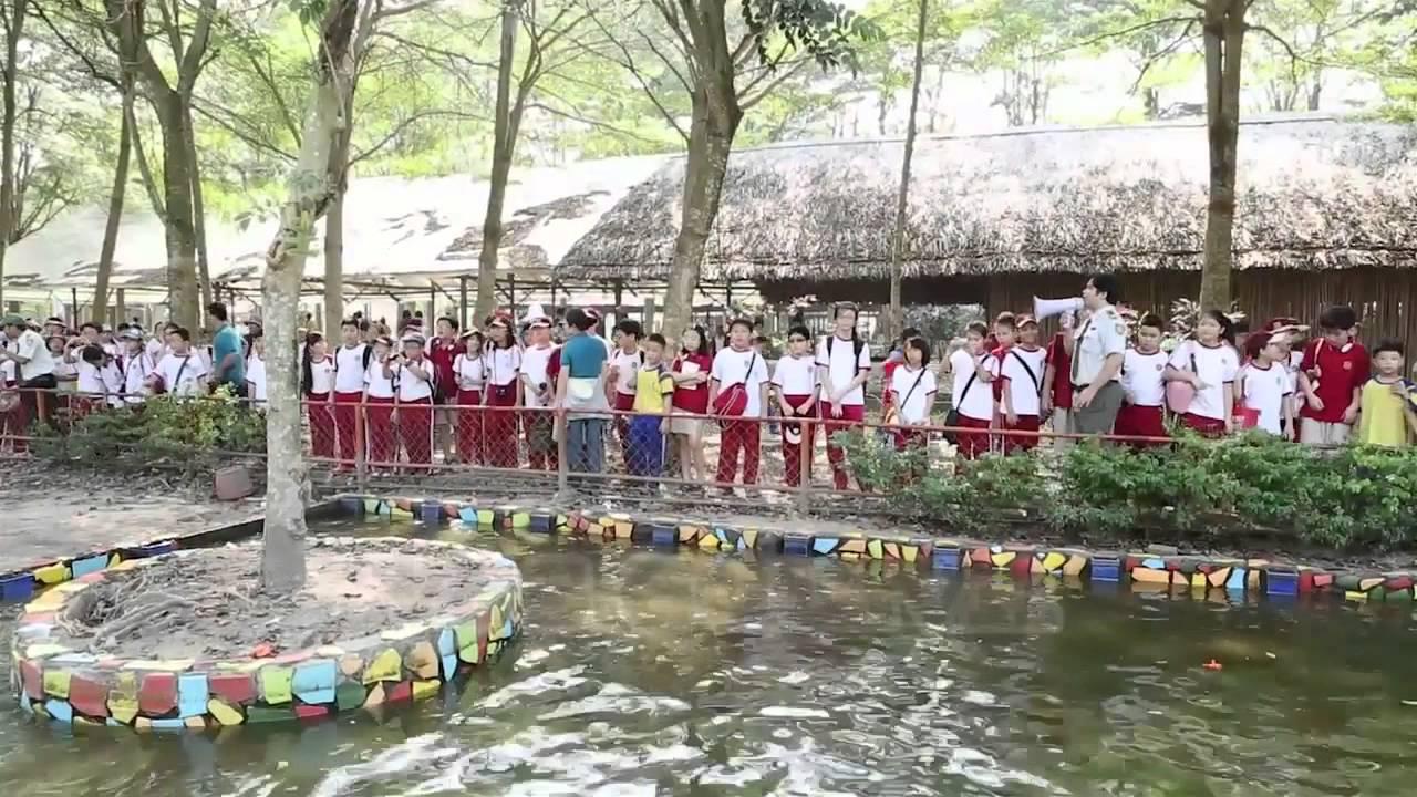 Tham quan làng sinh thái dân tộc thiểu số tại huyện Củ Chi – VAS Tiểu học – 1.2013