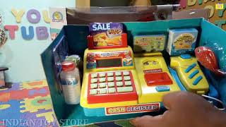 Kids Cash Register | Learning Fun Set | Review And Unboxing | Indian Toy Store |
