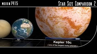 Star Size Comparison 2 | Amazing