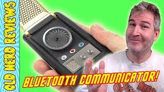 Star Trek Bluetooth Communicator UNBOXING 🤓🖖