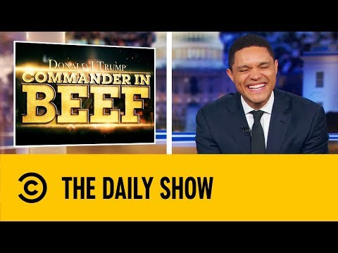 The Best Commander In Beef Segments | The Daily Show With Trevor Noah