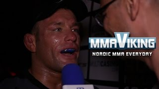 David Bielkheden Superior Challenge 12 Post Fight Interview