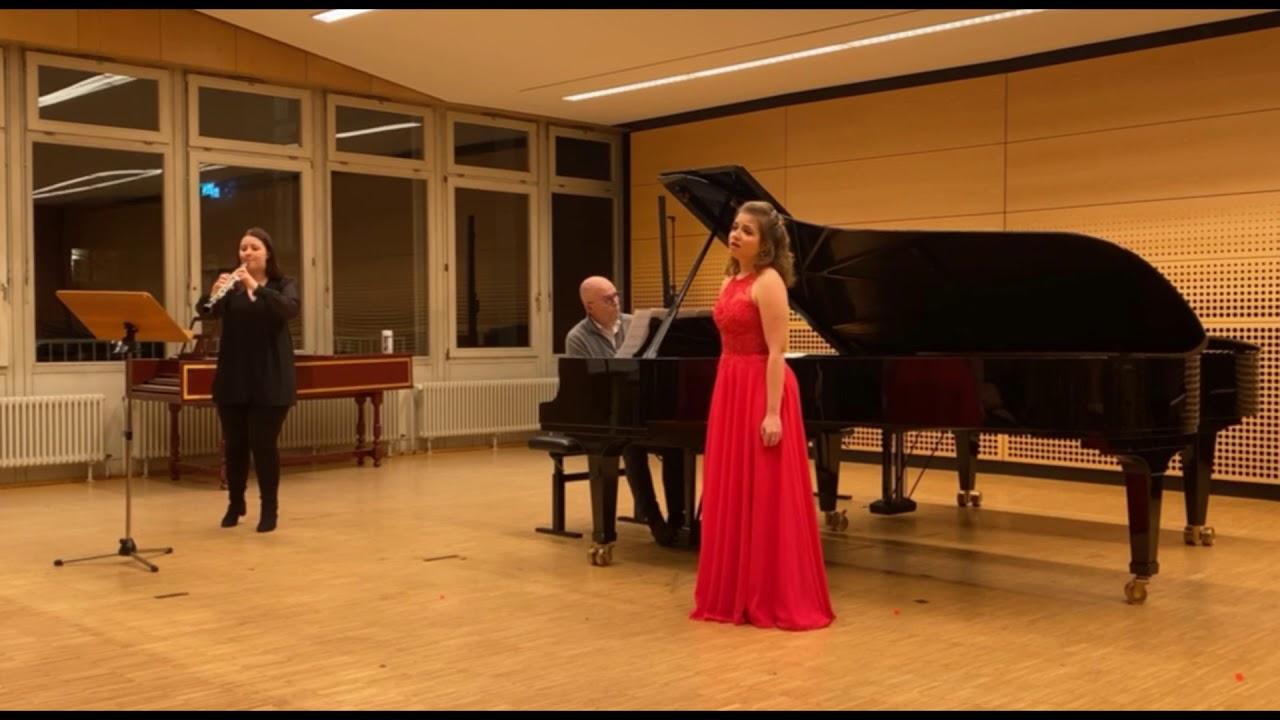 """W. A. Mozart - Konzertarie """"Vorrei spiegarvi o Dio"""" - Clorinda"""